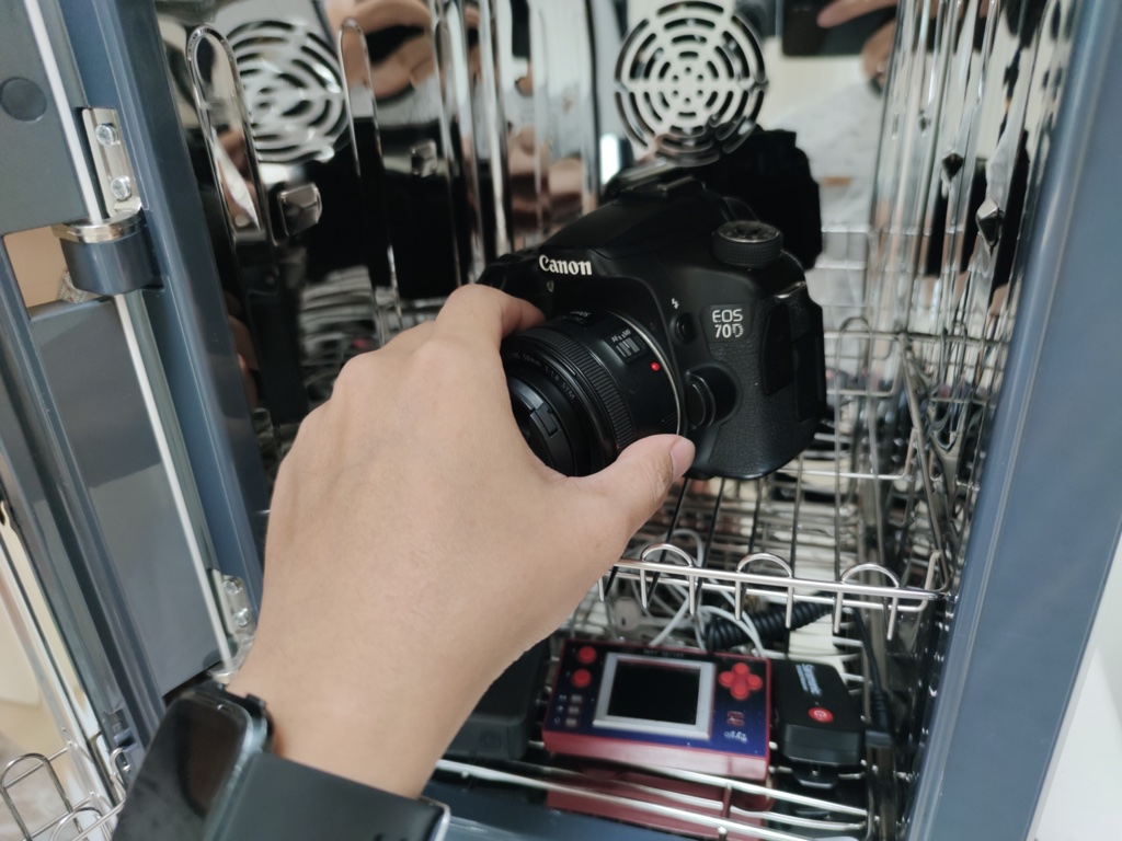 ทำความสะอาดกล้อง